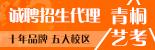 青桐艺考全国征集招生代理