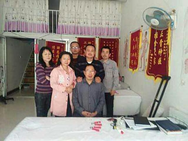 王春亮推拿学堂进来一张白纸出去一个大夫