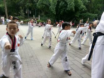 贵州榆英跆拳道面向毕节市黔西地区招生了