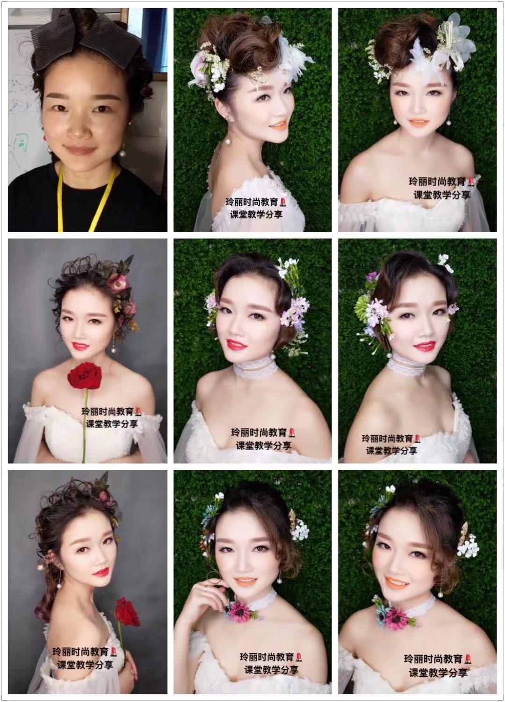 学化妆,学美甲,学纹绣,来玲丽