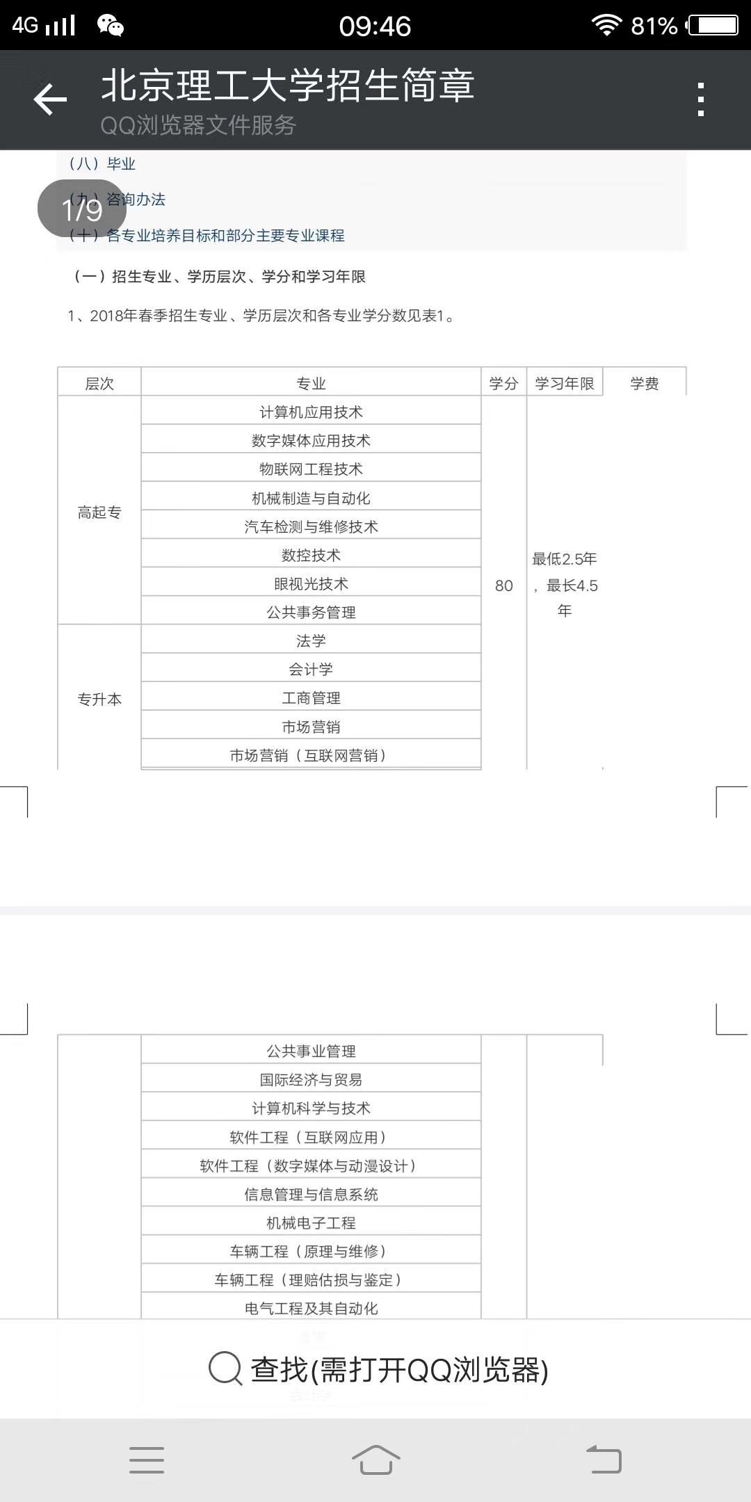 北京理工大学双证本科