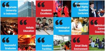 印度尼西亚力宝希望之光大学本科招生