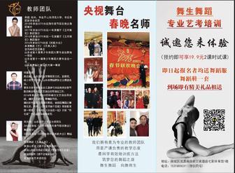 舞生舞蹈专业艺考培训