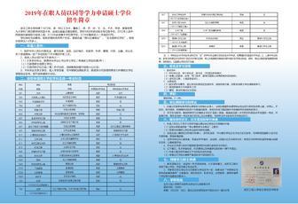 武汉工程大学同等学力硕士项目全国诚征合作