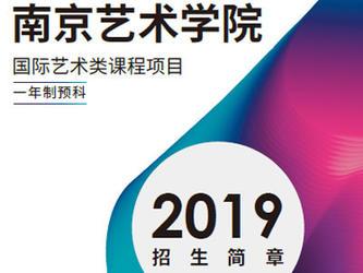 南京艺术学院国际艺术类课程项目全国招商